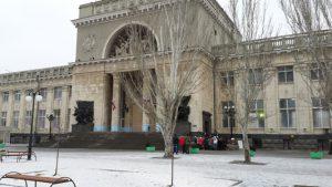 Волгоградский ЖД-вокзал после теракта